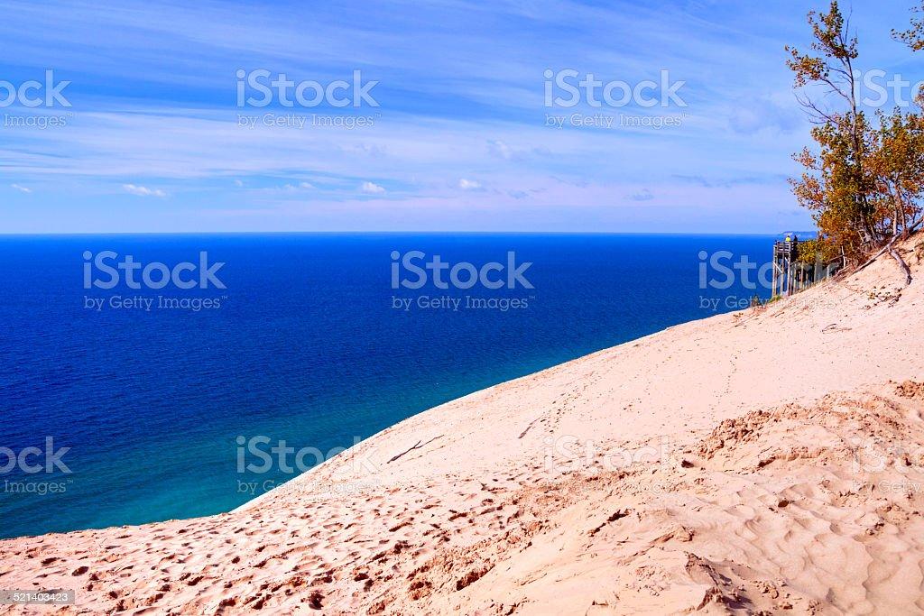 Sleeping Bear Dunes stock photo