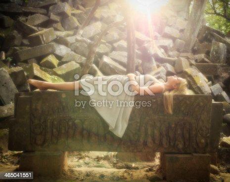 istock Sleeping Beauty Fairytale Princess 465041551