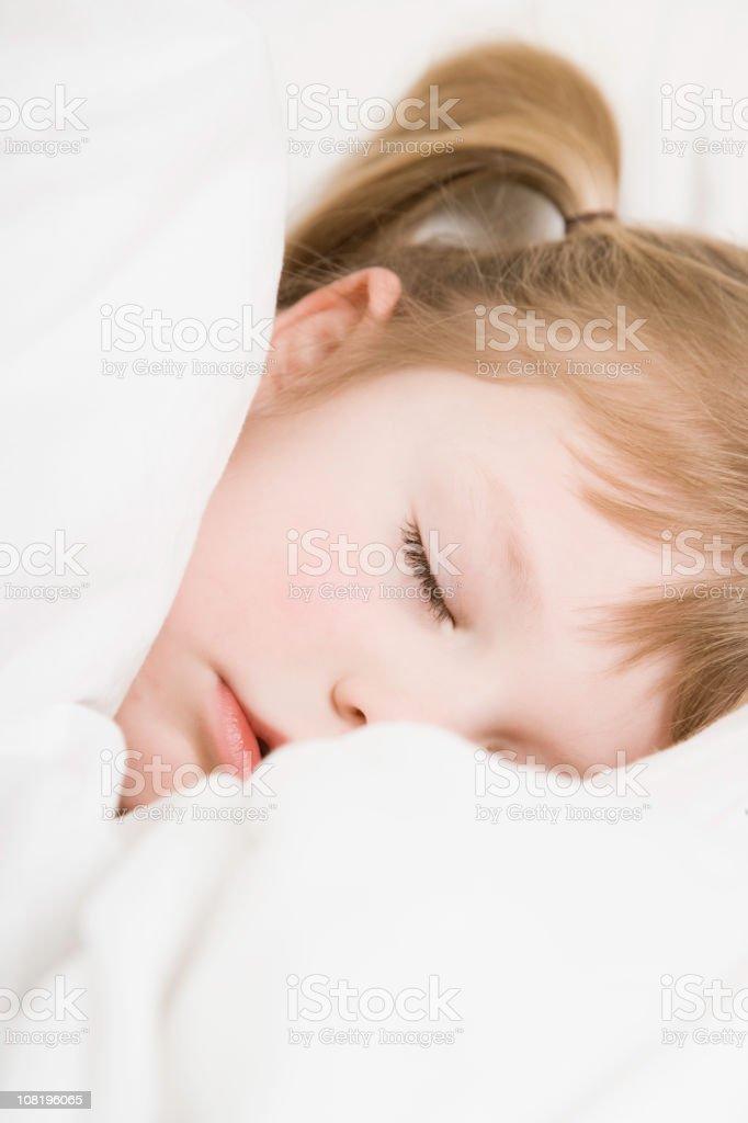 Sleeping Child royalty-free stock photo