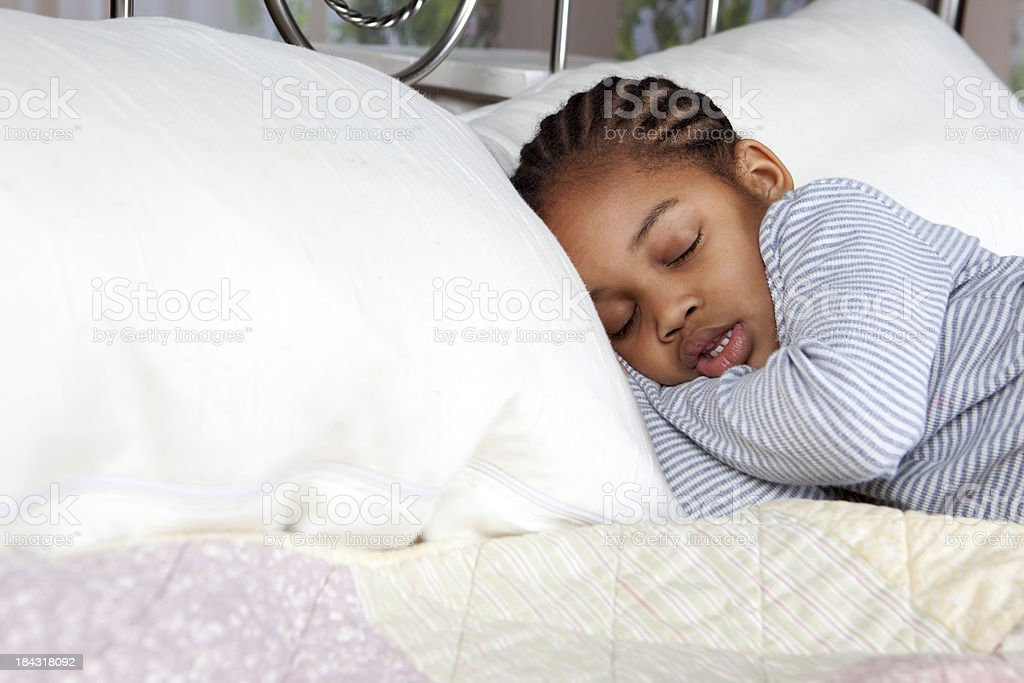 Sleeping Child stock photo