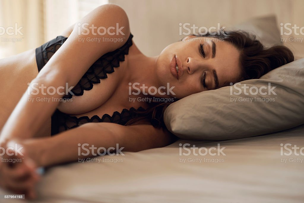 Sleeping delight stock photo