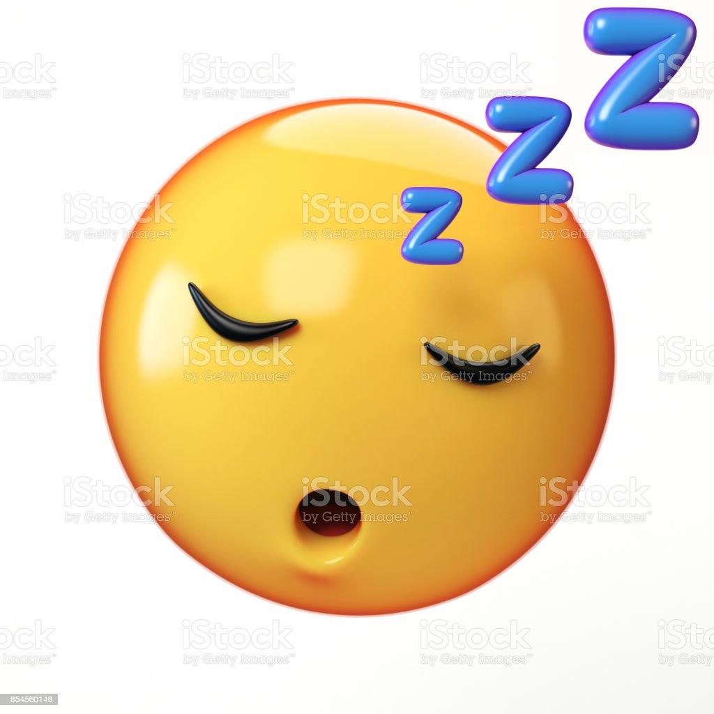 smilie schlafen
