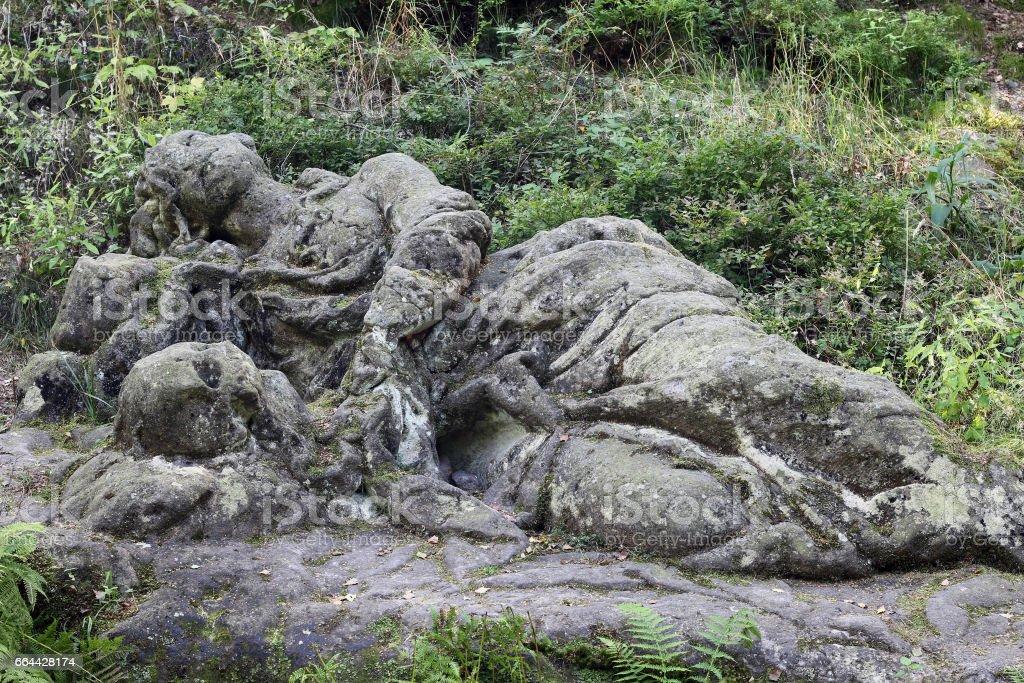 Sleeping Mary Magdalena stock photo