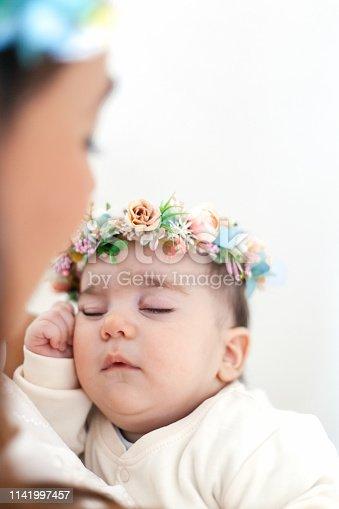 587876546istockphoto Sleeping newborn 1141997457