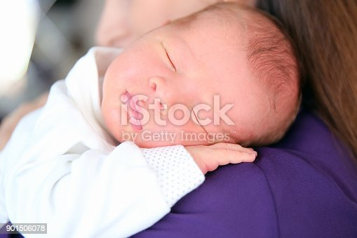 587876546istockphoto Sleeping Newborn 901506078