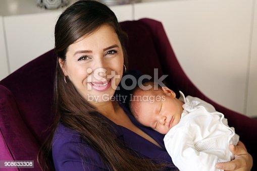 587876546istockphoto Sleeping Newborn 908633308