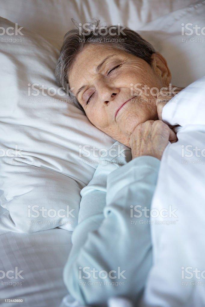 Sleeping peacefully royalty-free stock photo