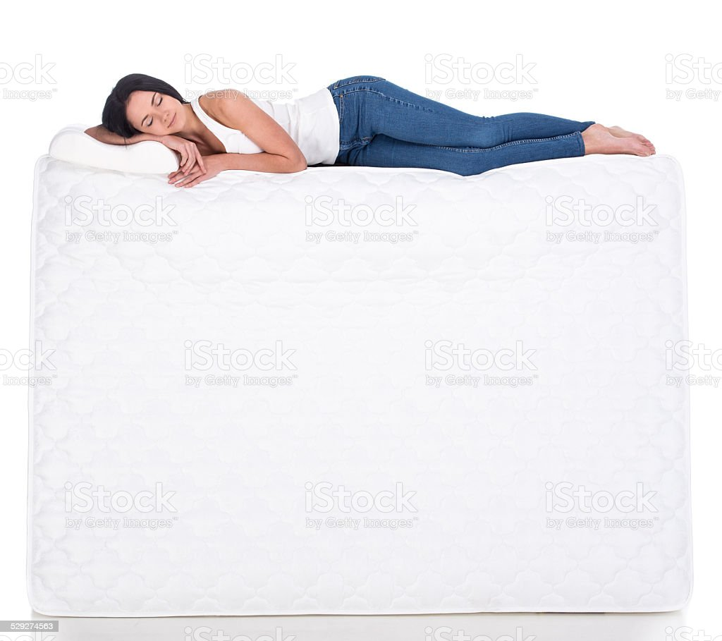 Sleeping stock photo