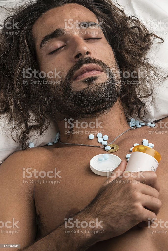 sleeping pills royalty-free stock photo