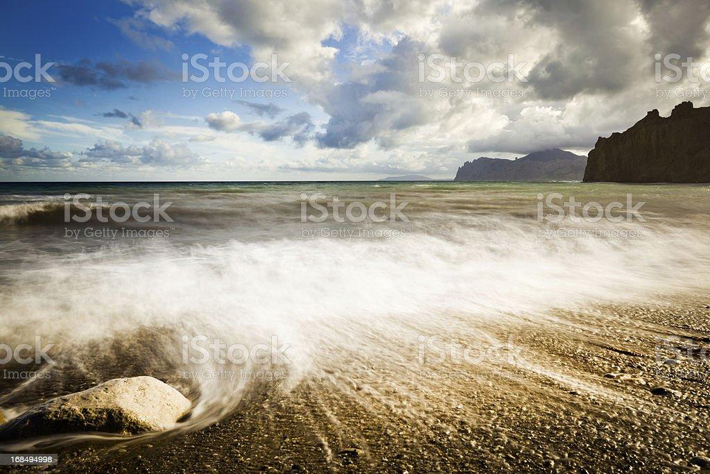 Sleeping sea royalty-free stock photo