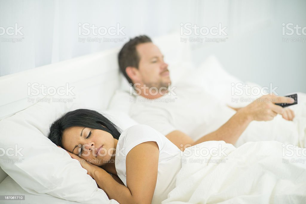 Sleeplessness royalty-free stock photo