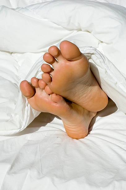 sleepy Füße – Foto
