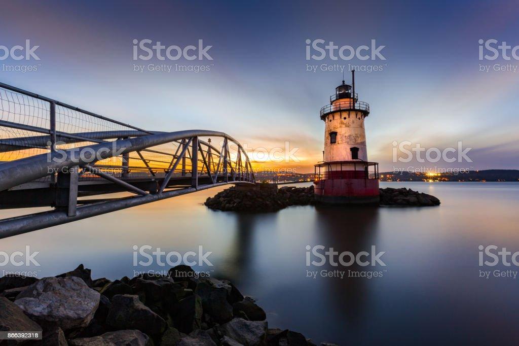 Sleepy Hollow Lighthouse stock photo