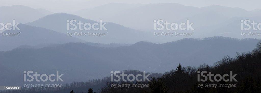 Sleepy Mountains royalty-free stock photo
