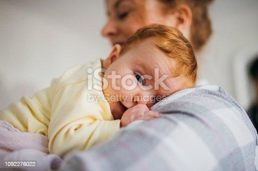 587876546istockphoto Sleepy Newborn 1092276022