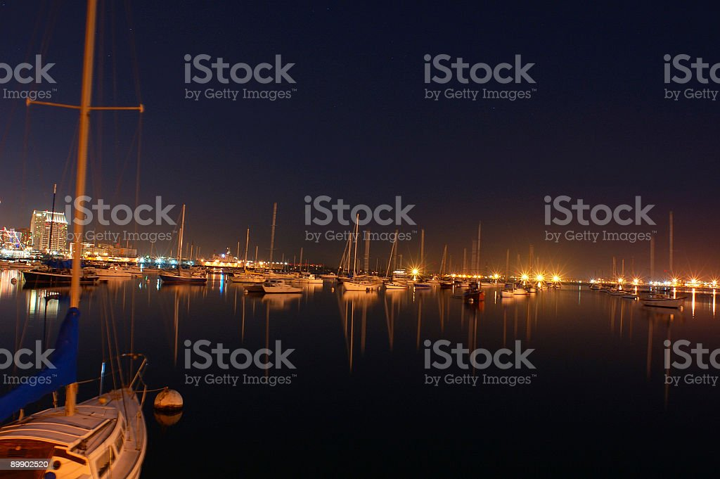 Sleepy Sailboats royalty-free stock photo