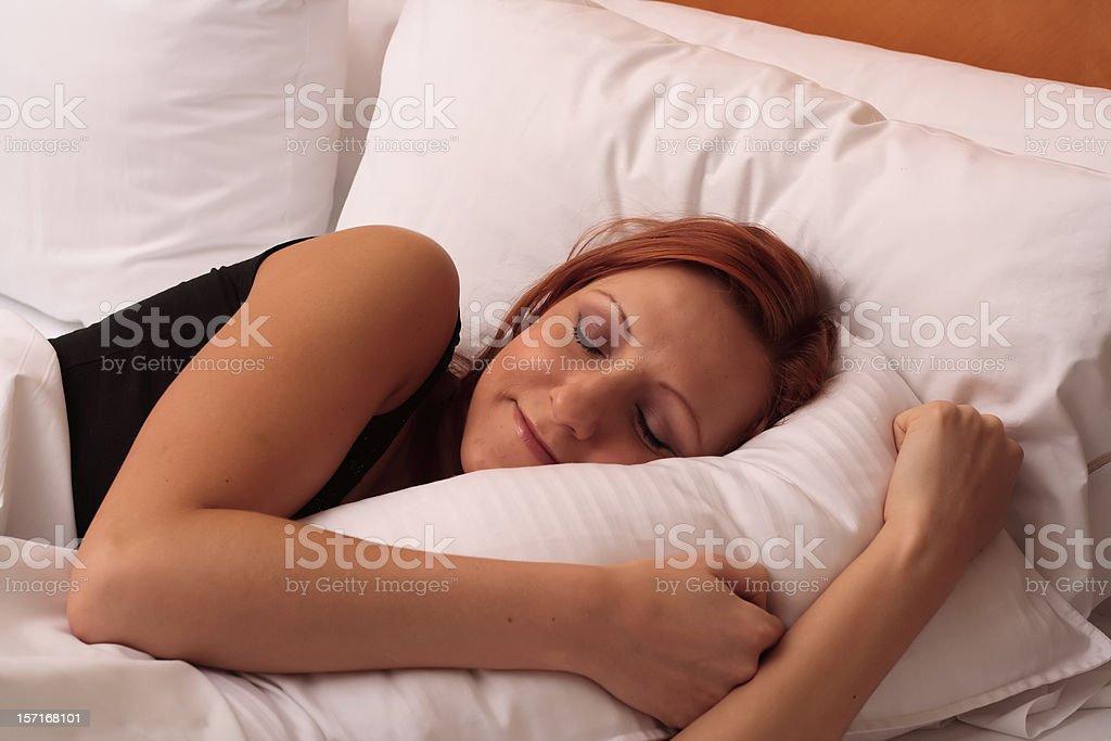 Sleepy Time royalty-free stock photo