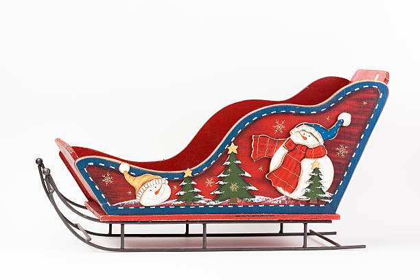Sleigh santa claus Sleigh santa claus  sleigh stock pictures, royalty-free photos & images