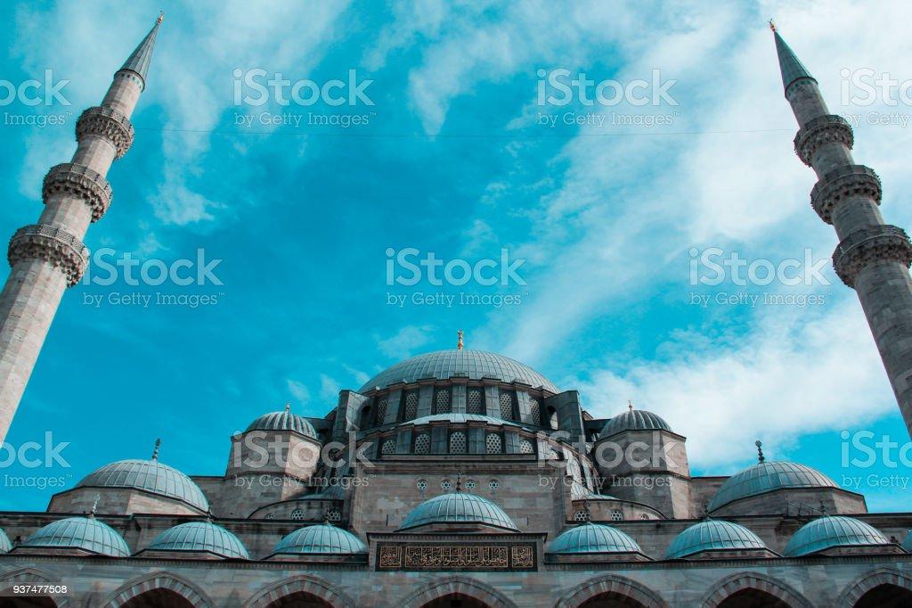 Süleymaniye Cami stock photo