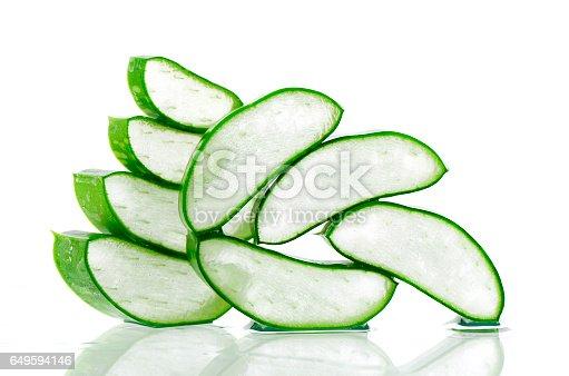 istock Slice Aloe Vera. 649594146