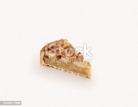 A slice of apple pie