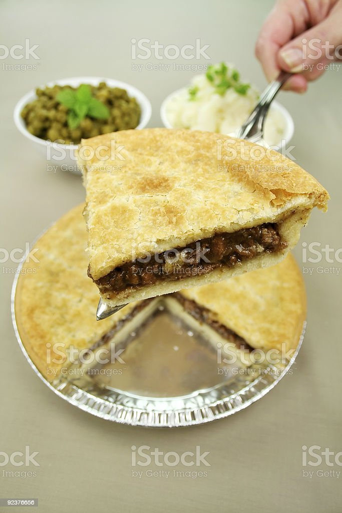 Slice Of Beef Pie royalty-free stock photo