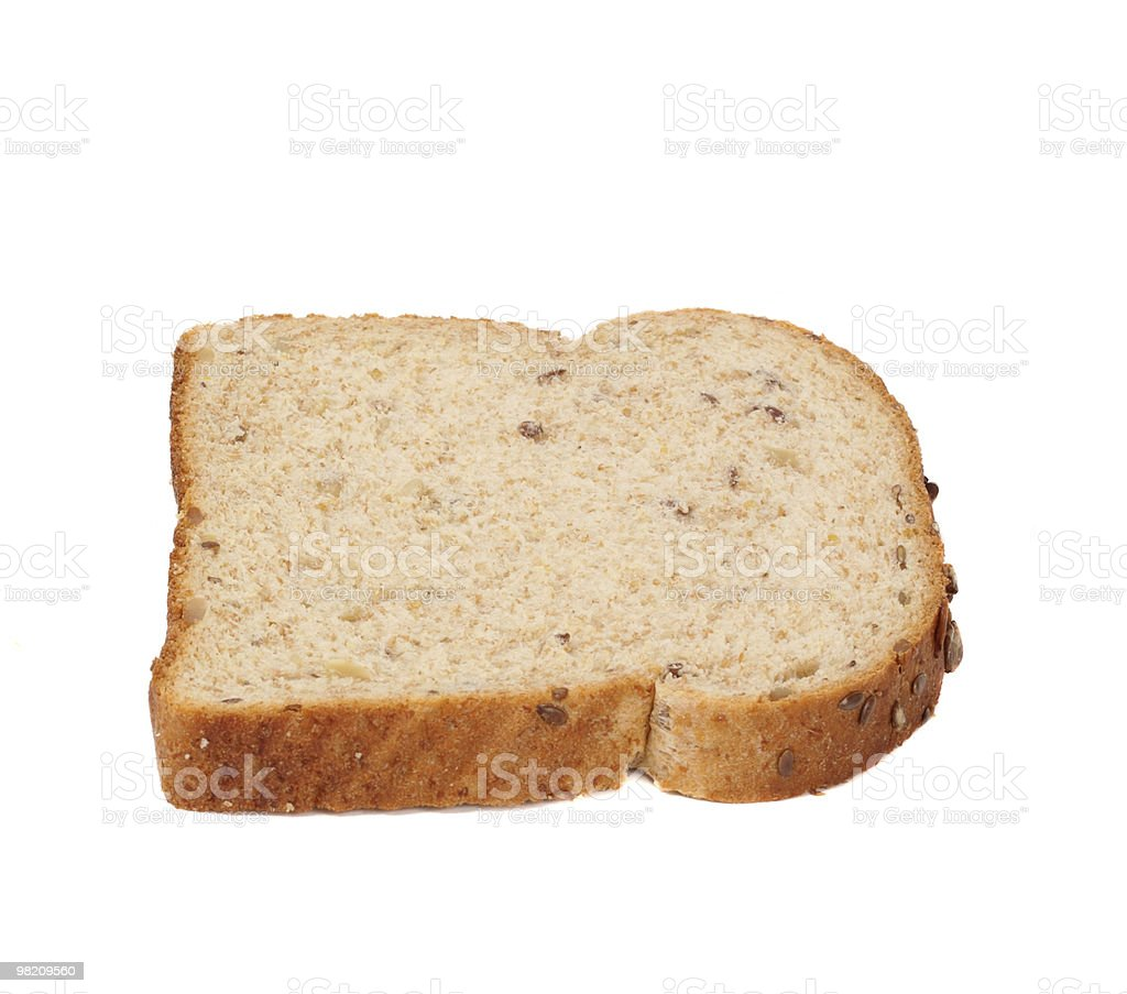 slice of bread royalty-free stock photo