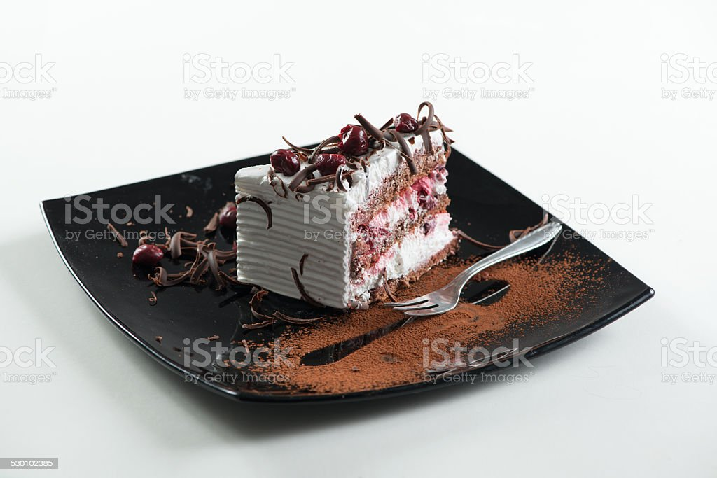 Slice of Cake stock photo