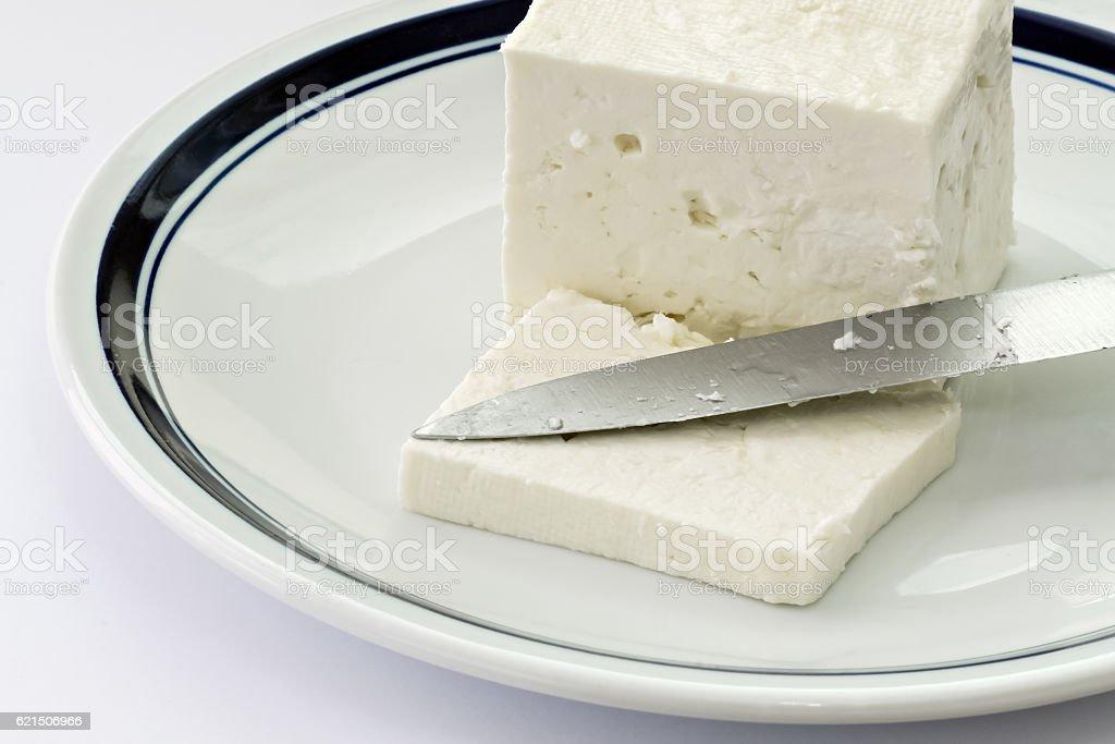 Fetta di formaggio  foto stock royalty-free