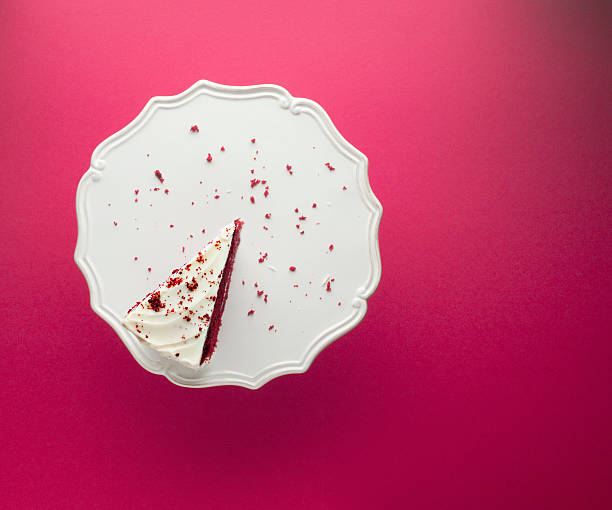 Slice of chocolate cake on cakestand  cakestand stock pictures, royalty-free photos & images