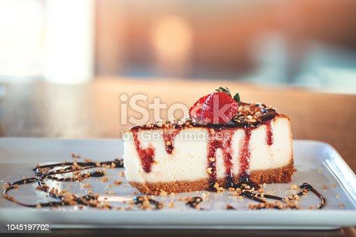 Slice of dessert