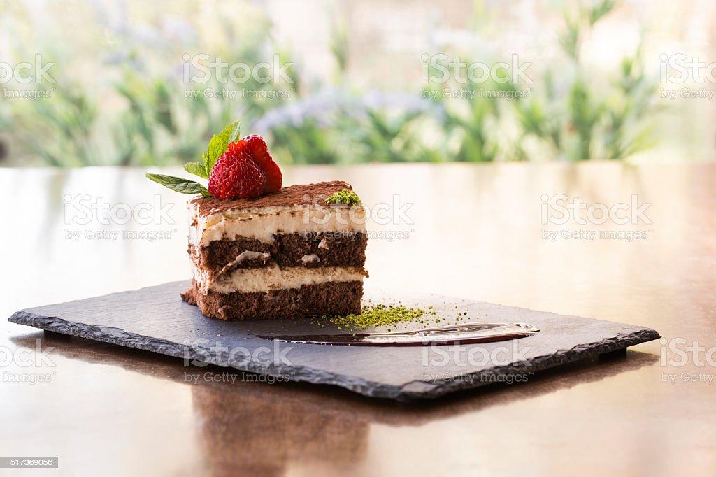 Stück Dessert – Foto