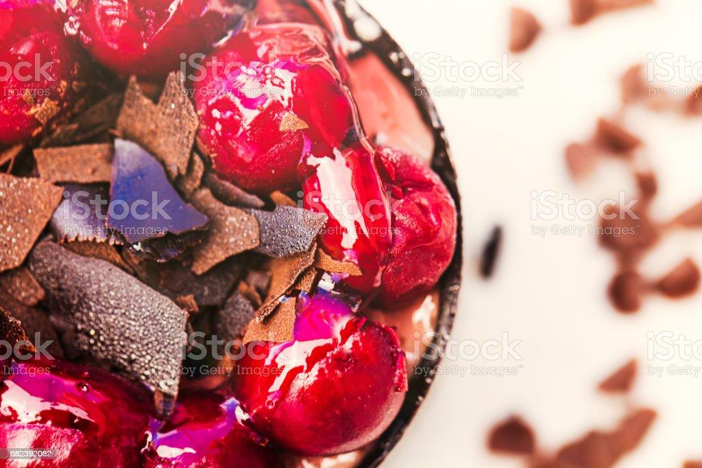 Slice of dessert royalty-free stock photo