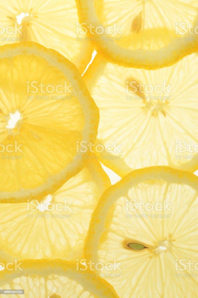 Slice of lemon foto stock royalty-free