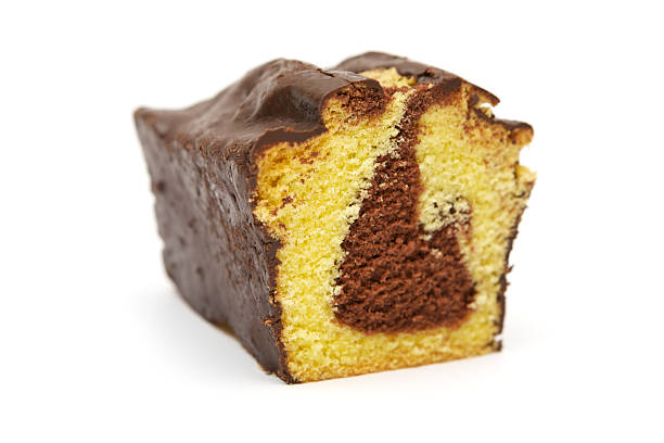 Slice of Marble Cake​​​ foto
