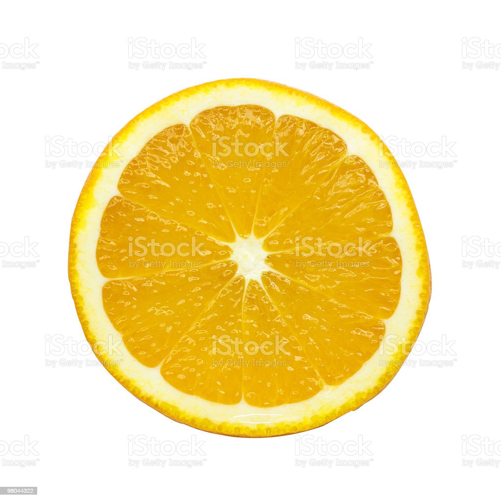 Slice of orange royalty-free stock photo