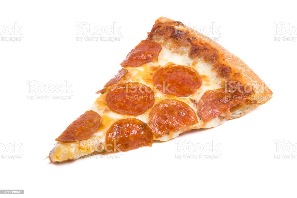Slice of Pizza stock photo