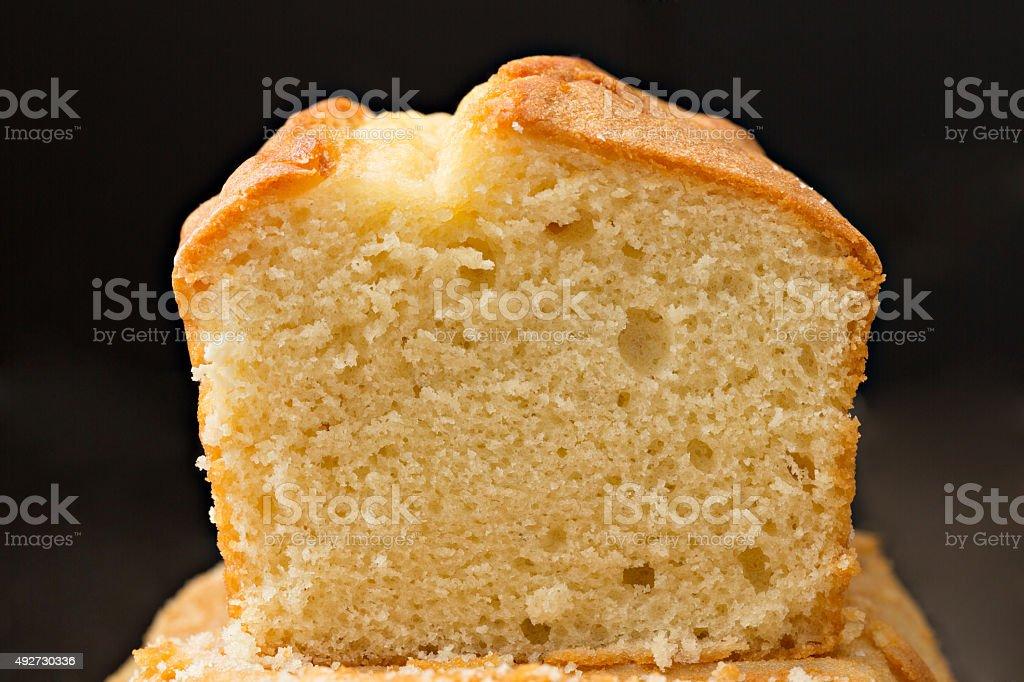 Fatia de Poundcake - foto de acervo