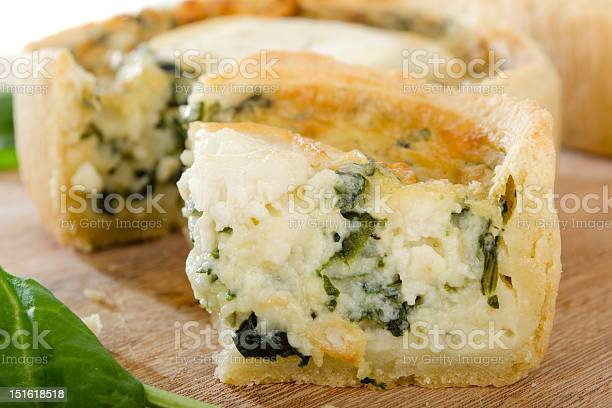 Slice of spinach quiche with goats cheese picture id151618518?b=1&k=6&m=151618518&s=612x612&h=ykw22j6qkzxi tz doabogczujjeikunijyqzgzielm=