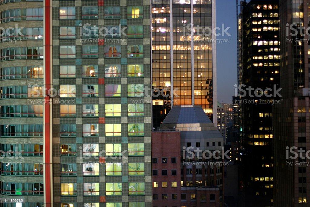 Slice of the Big Apple - NYC stock photo