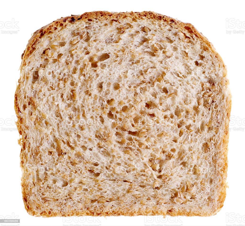Slice of Wheat Bread stock photo