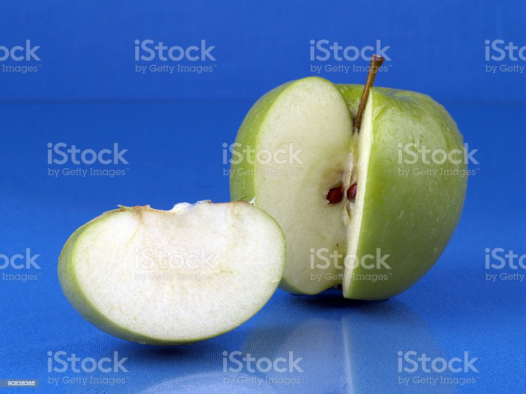 Sliced Apple - 3 stock photo