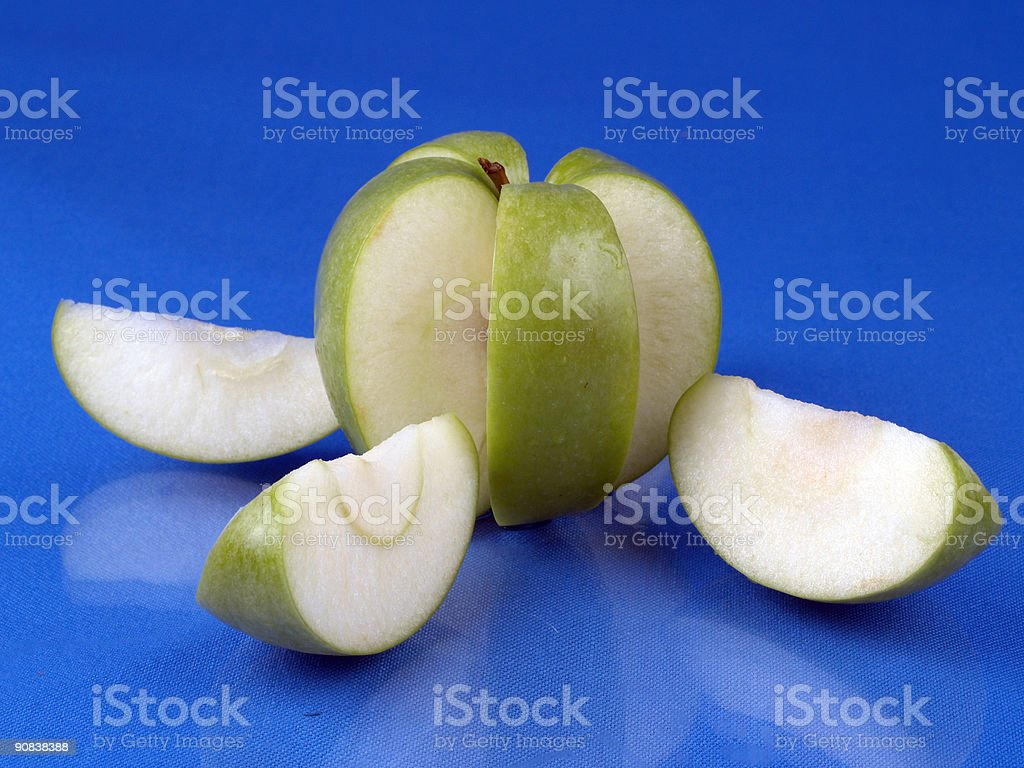 Sliced Apple - 5 royalty-free stock photo