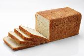 Bread, Loaf of Bread, Slice, Sliced Bread, Falling