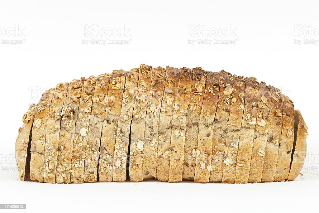 Sliced bread royalty-free stock photo