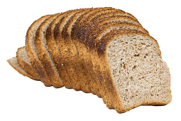 Sliced bread stock photo