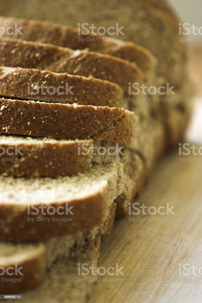 Sliced bread royalty free stockfoto