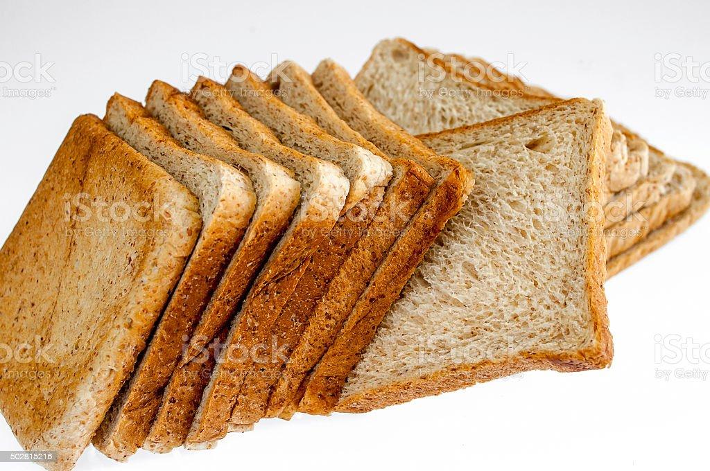 Sliced Bread,Thailand stock photo