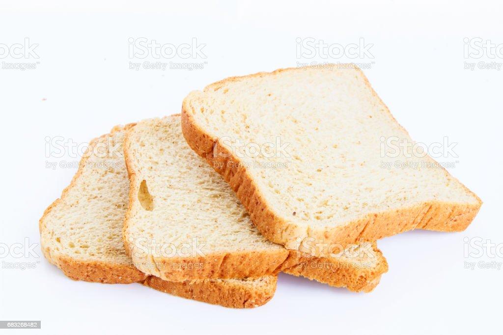 Sliced fresh wheat bread ロイヤリティフリーストックフォト