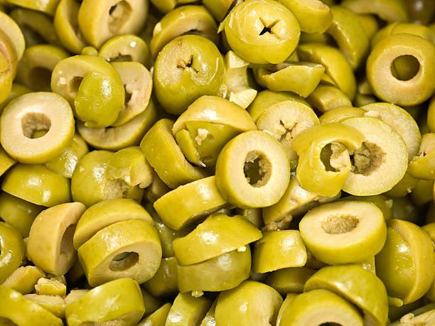 sliced green olives - 612×459